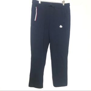 Kappa Navy Cropped Joggers Size M